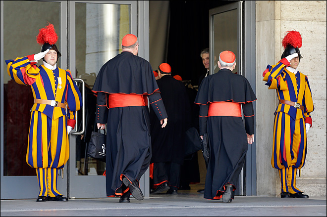 Cardinals begin pre-conclave meetings amid scandal