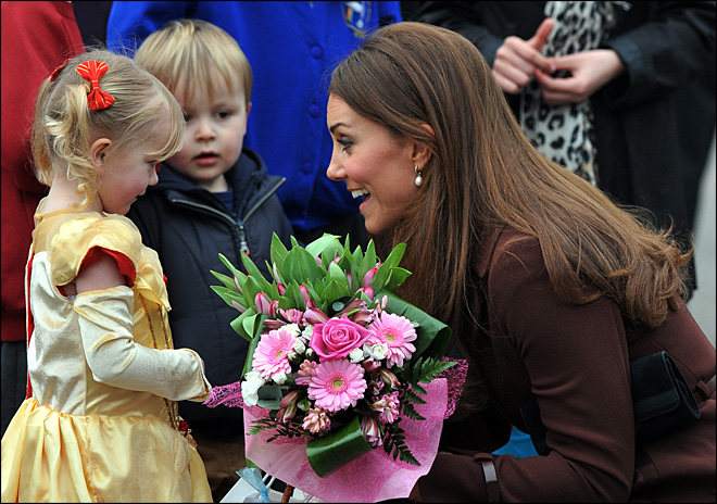 Did Kate let royal baby secret slip?