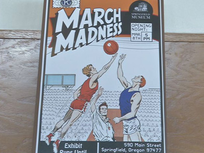A trip down memory lane with 'March Madness' exhibit