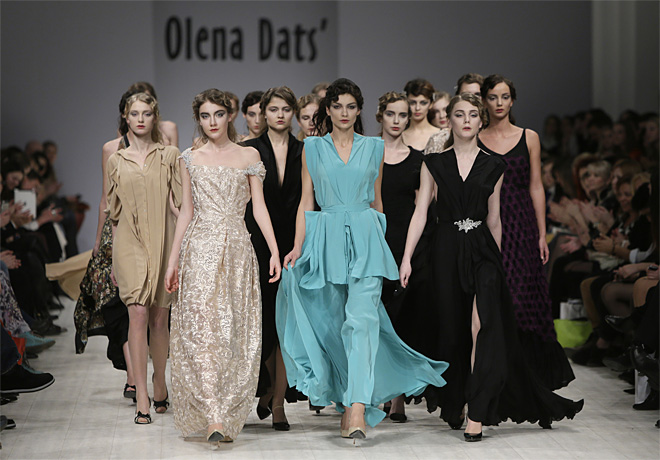 Ukraine Fashion Week Olena Dats