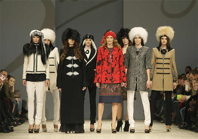 Ukraine Fashion Week Sukhanova