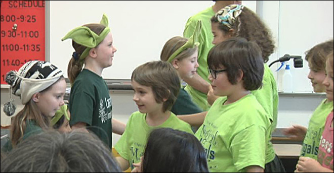 Battle of the Books: Teams face off in literary competition
