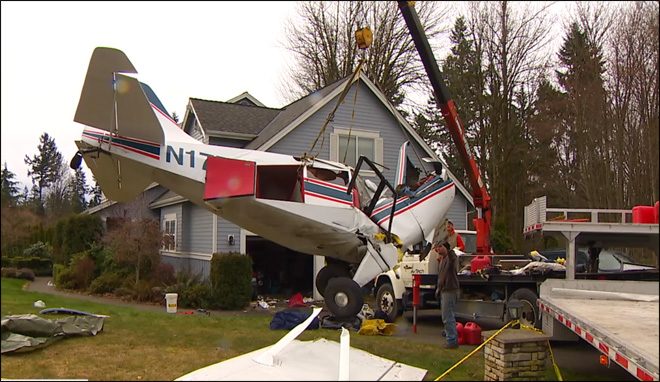 Plane crash aftermath: 'It really came home, how fleeting life can be'