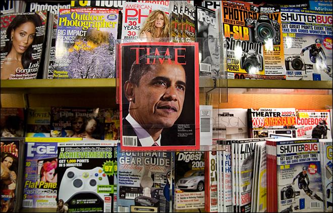 Time spin-off highlights risks facing magazines