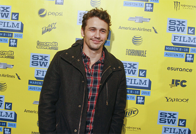 James Franco becomes the latest star to turn to crowdsourcing