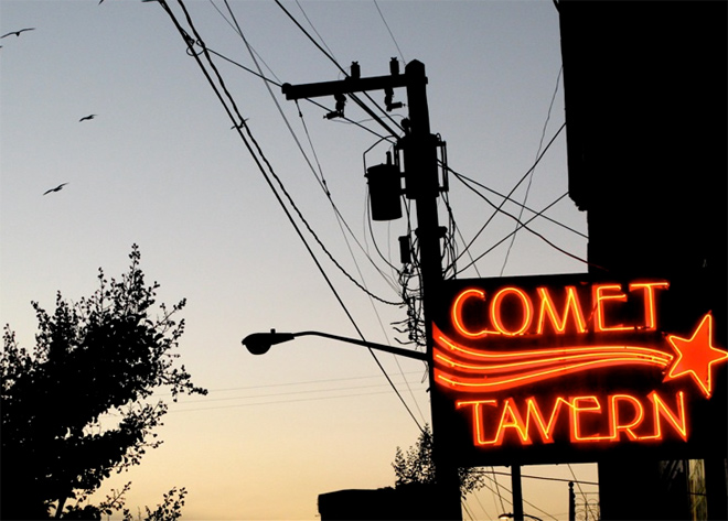 Comet sightings, Northwest style