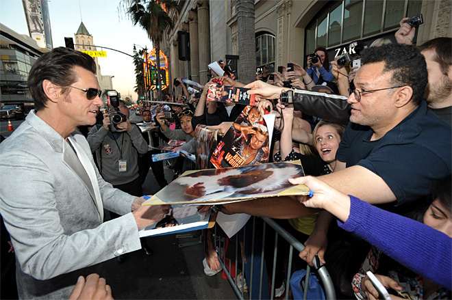 LA Premiere of The Incredible Burt Wonderstone - Red Carpet