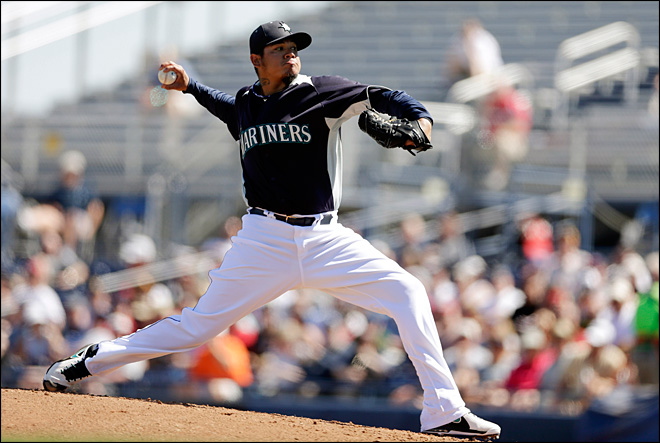 Felix Hernandez sharp for Mariners in 5-4 loss