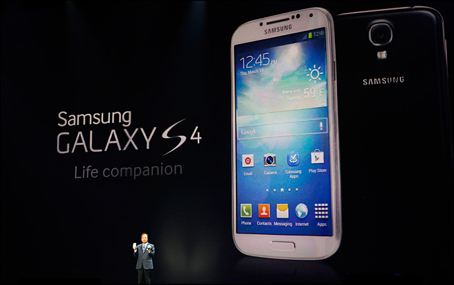 AT&T to take orders for Galaxy S 4 on April 16