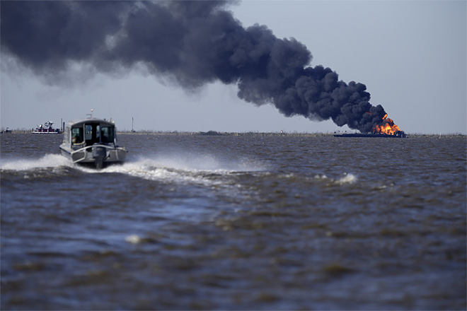 Louisiana Pipeline Blaze