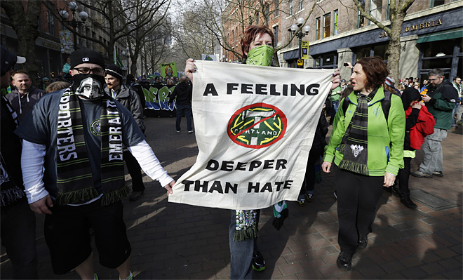 MLS Timbers Sounders Soccer