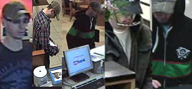 FBI: 'Tall Man' bandit robs 6 local banks in 5 weeks