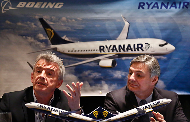 Ryanair keeps growing, reports record profits