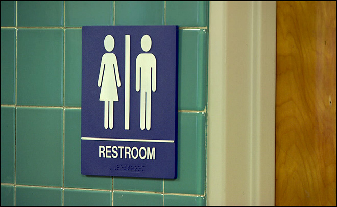 Tough choice for some made easier with unisex bathrooms