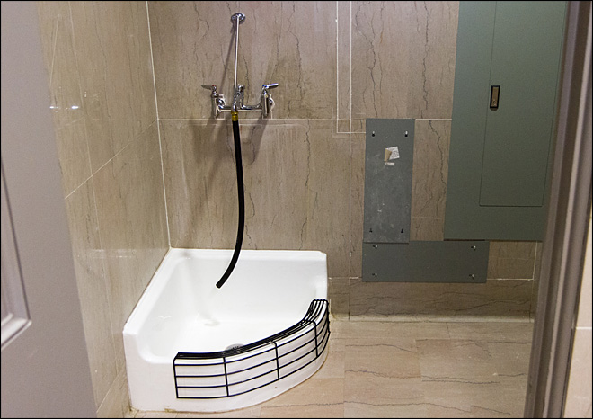 Is Tennessee Capitol sink for Muslim feet washing? No