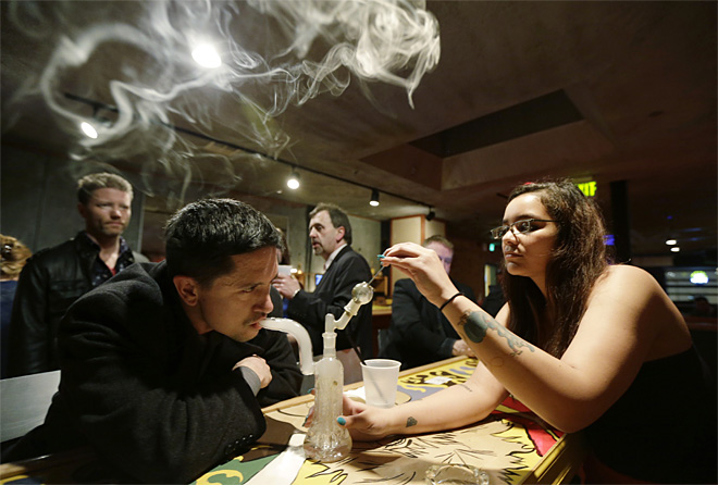 Legalizing Marijuana Bars