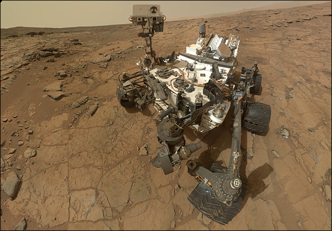 NASA's Curiosity rover celebrates 1 year on Mars