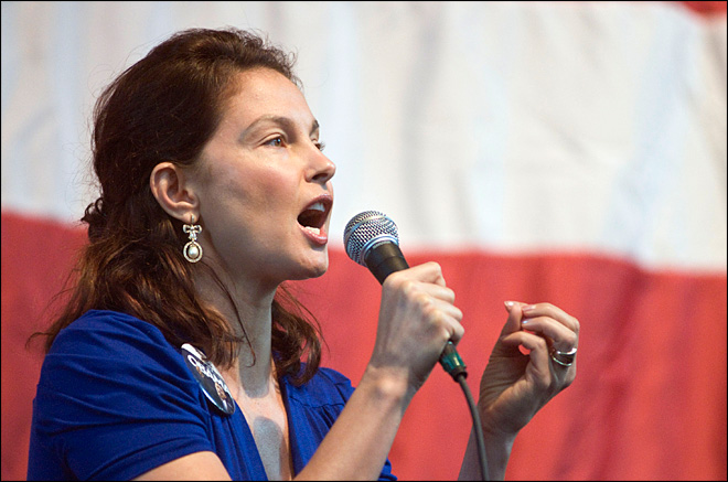 Actress Ashley Judd won't run for US Senate