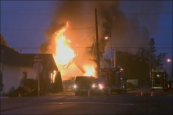 Suspected cop shooter killed in fiery gunbattle in Hoquiam