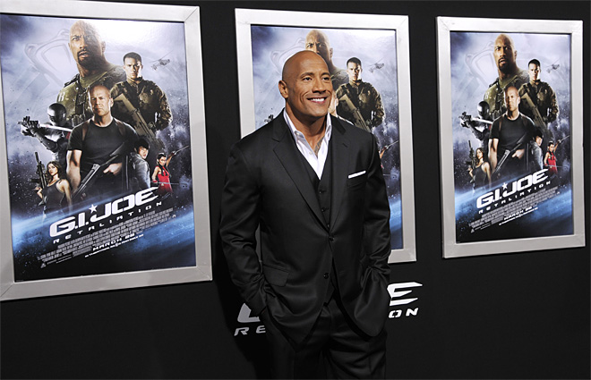 LA Premiere of GI Joe Retaliation Arrivals