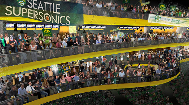Photos: Proposed new arena's 'Sonic Ring' seats
