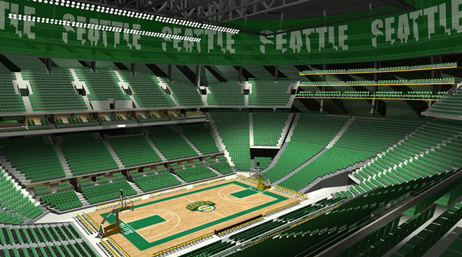 Proposed Sonics Arena