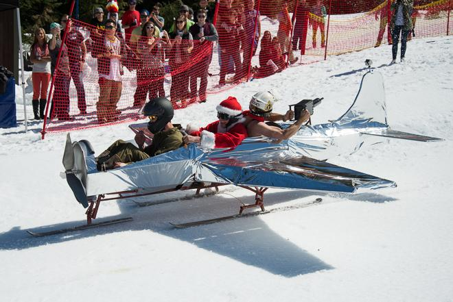 The Red Bull Schlittentag at Skibowl: 'It was epic'