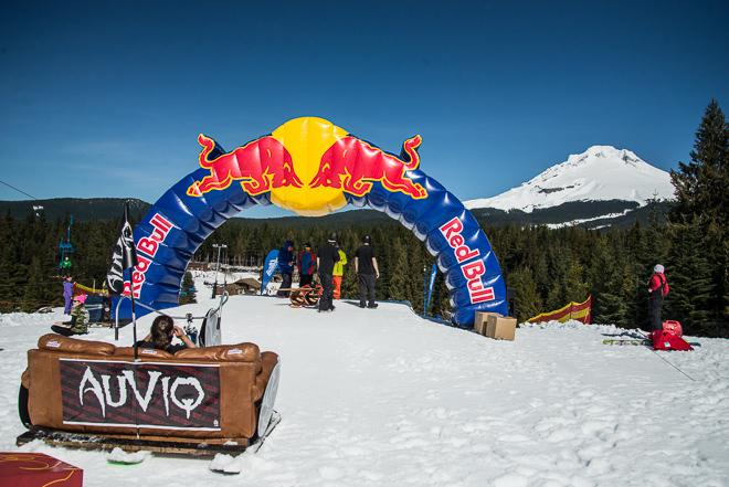 The Red Bull Schlittentag at Mt. Hood Ski Bowl