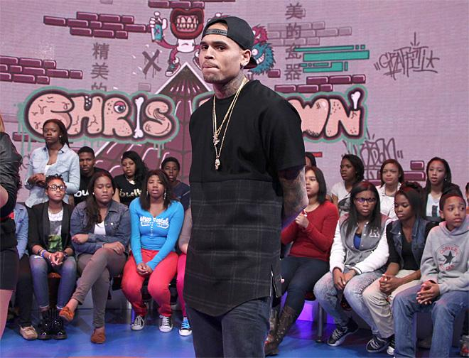 Chris Brown Appears on 106 & Park