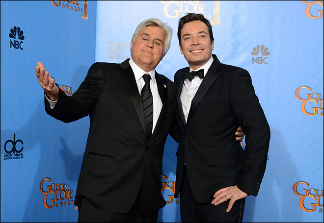 Leno out, Fallon in at 'Tonight Show'