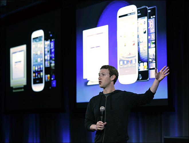 Facebook unveils 'Home' for Android phones