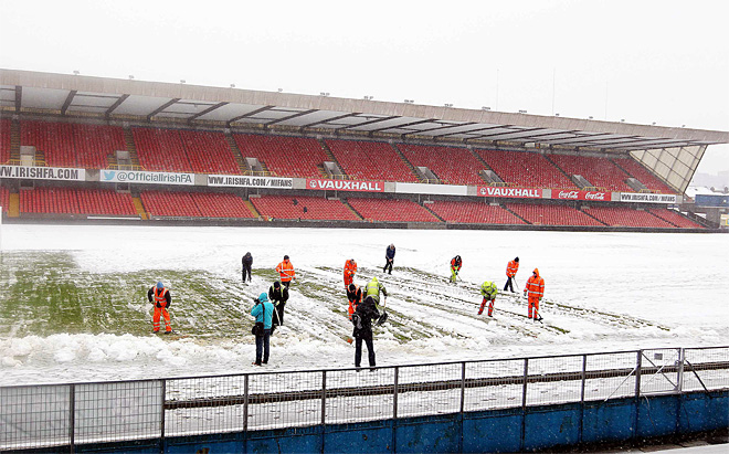 Britain WC Soccer Russia Weather