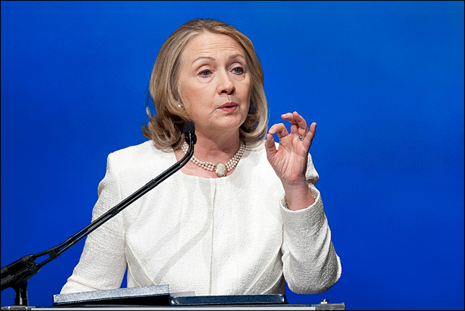 Will she run? Hillary Clinton's every public move generates buzz