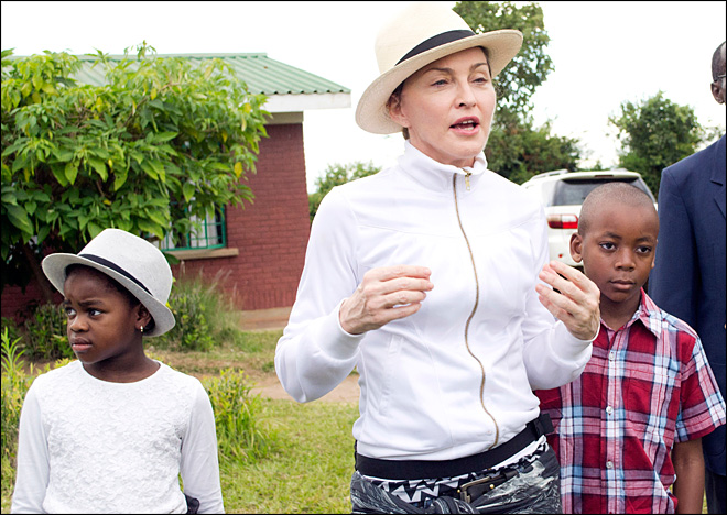 Malawian government: Madonna is 'lying to the world'