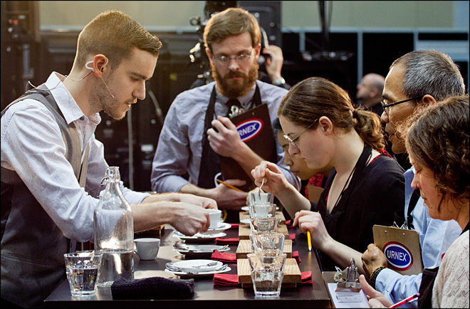 Top baristas duke it out for national championship