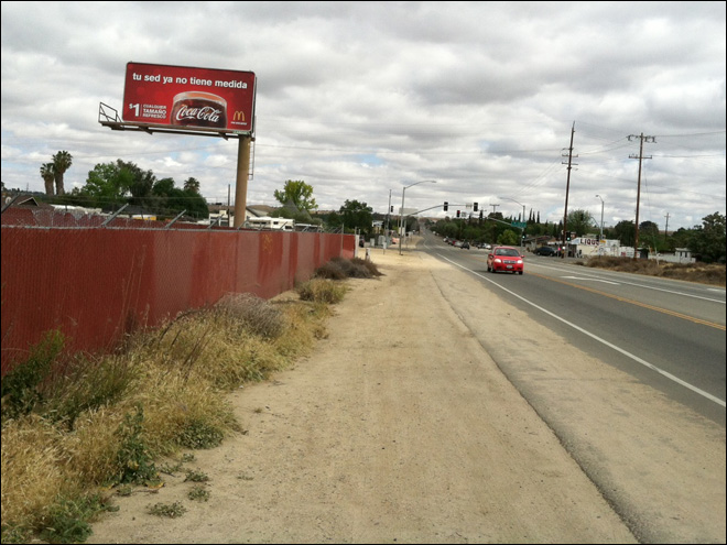Man complains of McDonald's billboard in Spanish