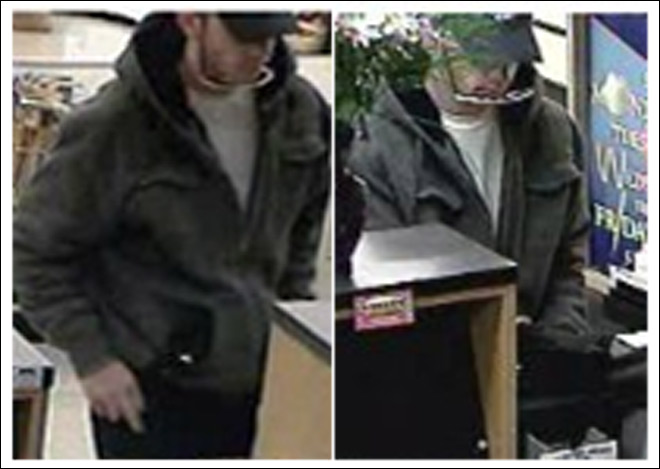 Police: Man wearing &#39;shutter shades&#39; robs bank
