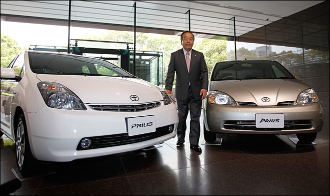Toyota's hybrid vehicle sales pass 5 million