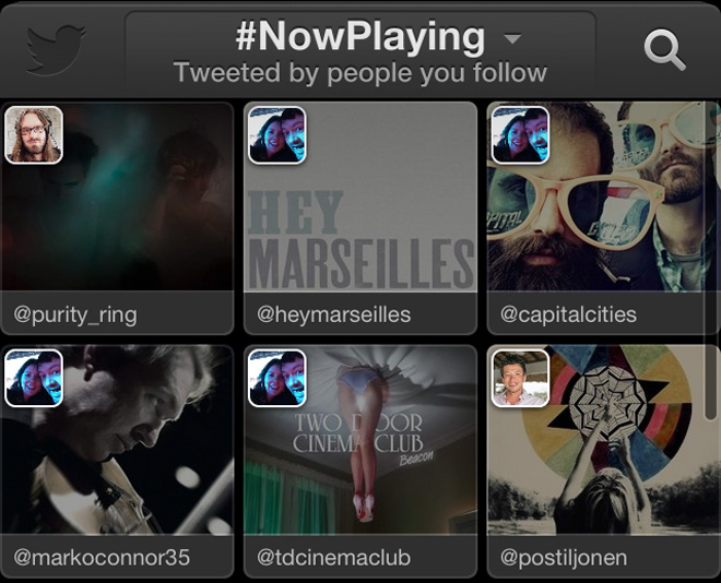 Twitter launches #music feature