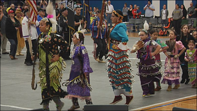'The pow wow is the stepping stone for the community'
