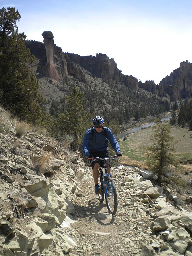 Central Oregon singletrack: 'That's what I'm talking about!'