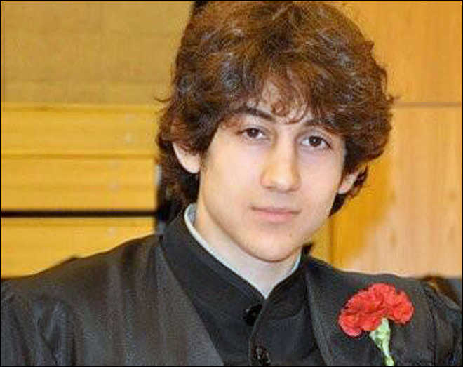Marathon bombing suspect wants records in triple slaying