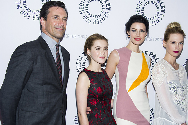 Mad Men Cast at The Paley Center