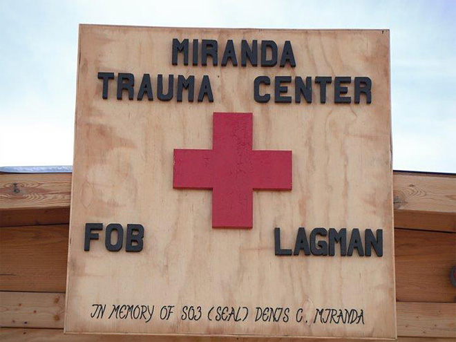 Trauma Center named in memory of Denis Miranda