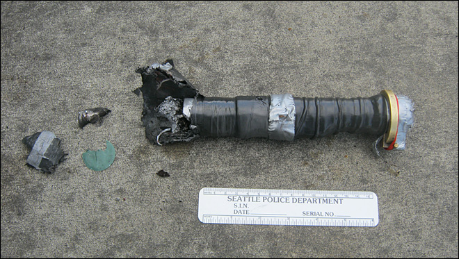 Homemade 'lightsaber' causes bomb scare