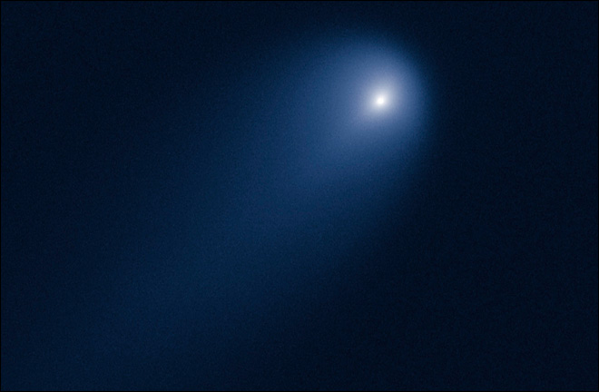 Hubble snaps photo of approaching 'comet of the century'