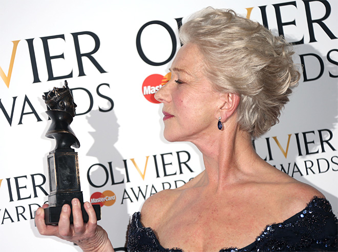 The Olivier Awards 2013 Press Room
