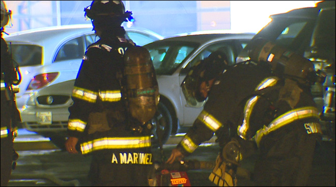 8 cars destroyed, 10 damaged in fire at Sea-Tac parking garage