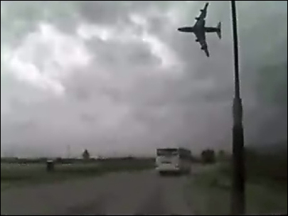 Horrific plane crash video goes viral