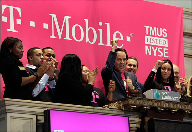 T-Mobile to eliminate international data fees